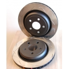 Задний тормозной диск DBA4000 T3 Slotted DBA42633S SRT