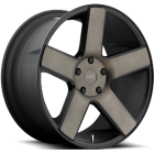 Колесный диск DUB Baller 20x9,5 5x127 Black/Machined