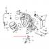 Прокладка трубки турбины Jeep Grand Cherokee WK2 3.0 CRD 68395009AA